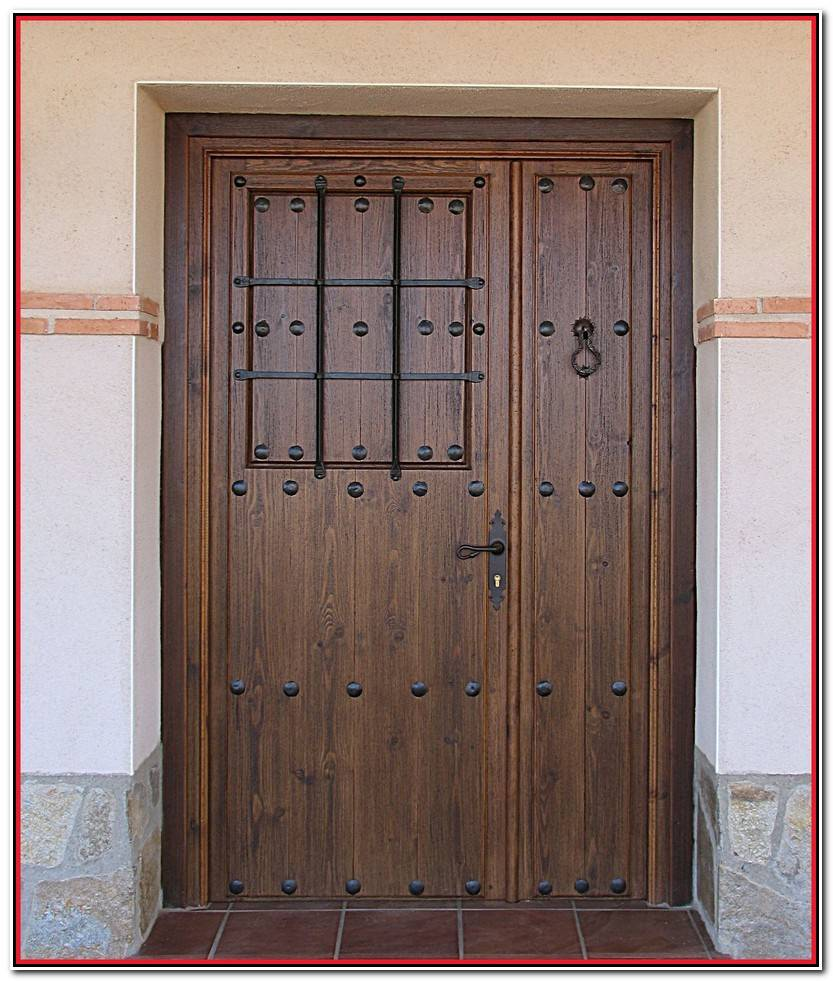 Lo Mejor De Puertas De Exterior Rusticas Fotos De Puertas Decorativo