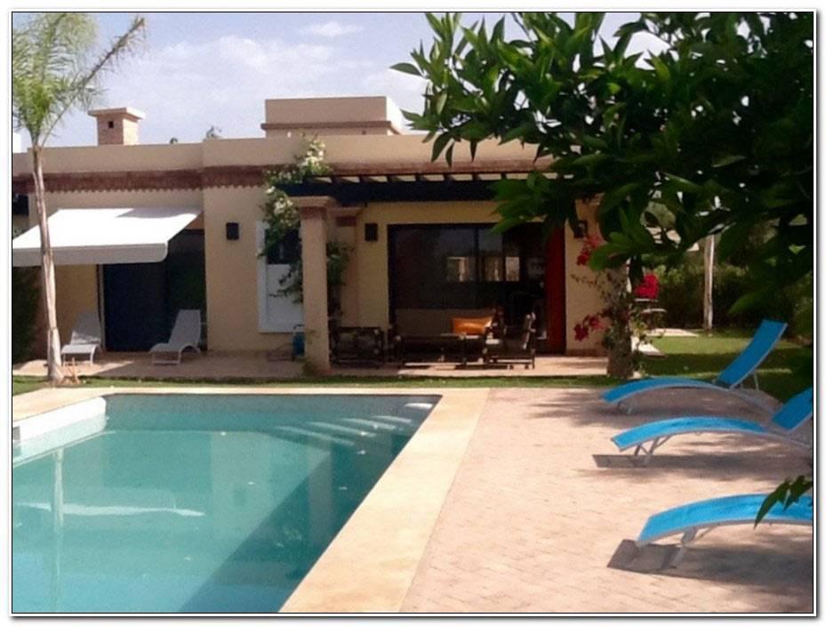 Location De Villa A Agadir Avec Piscine