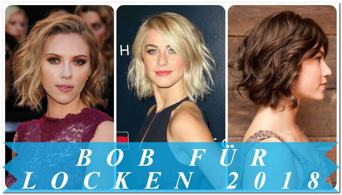 Locken Frisuren Kurz Frauen 2018