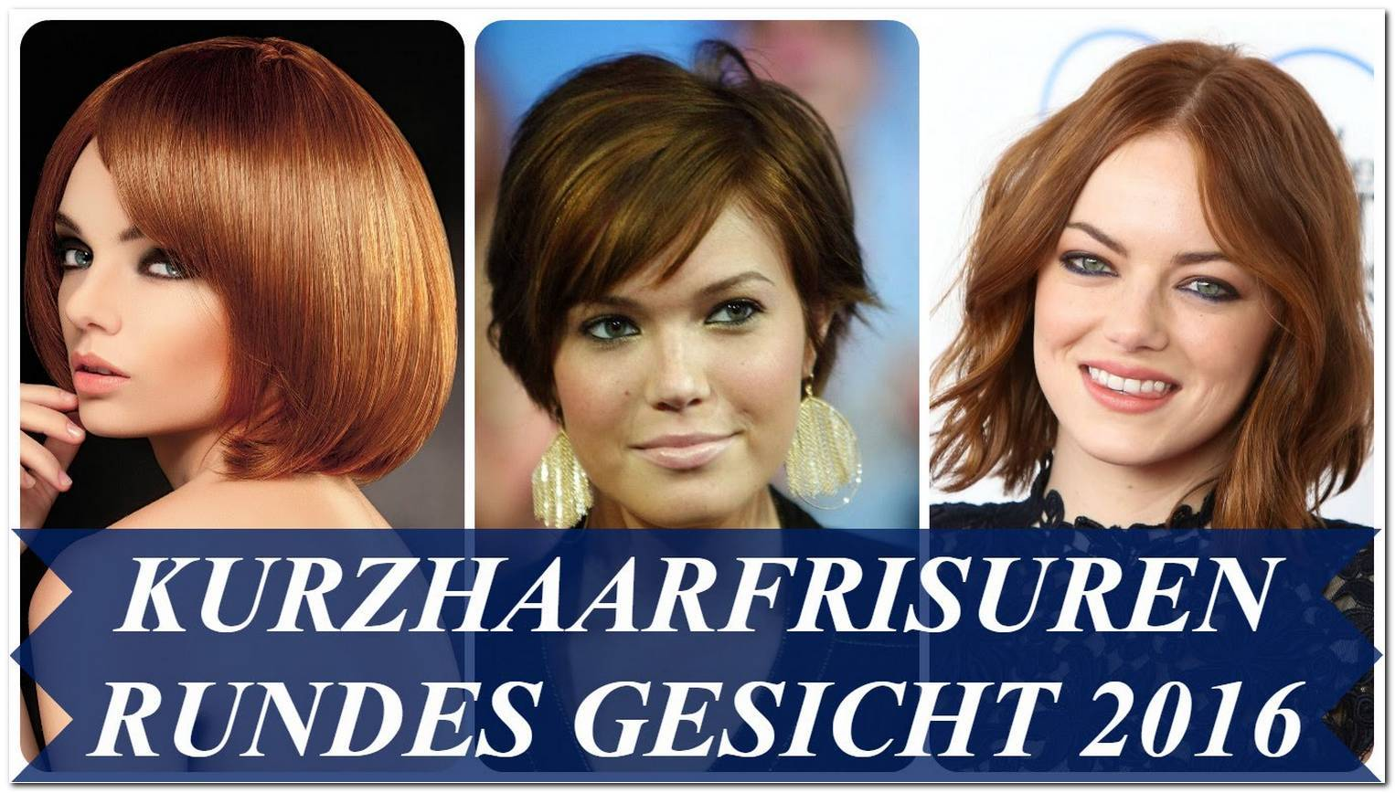 Locken Frisuren Kurz Rundes Gesicht