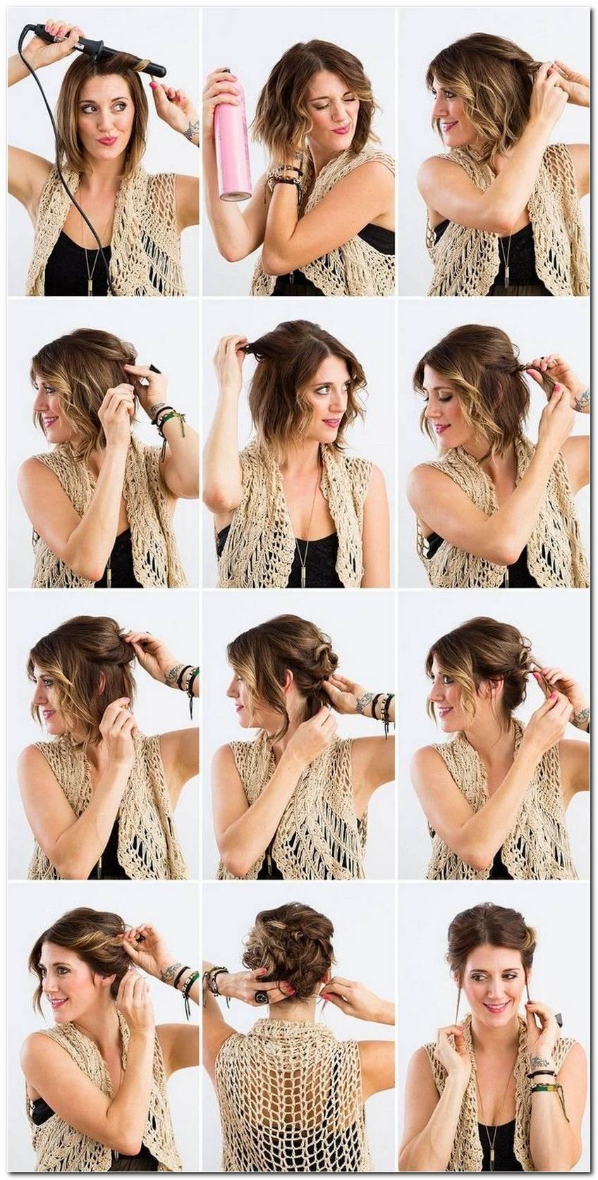 Lockere Frisuren Zum Selber Machen