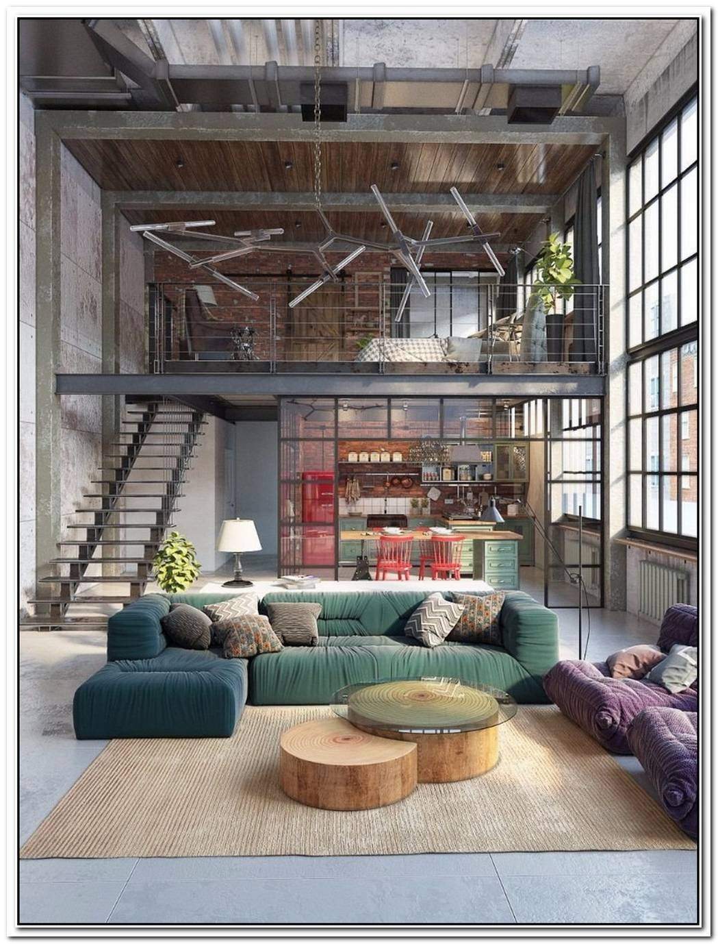 Loft Living Interior Design Ideas