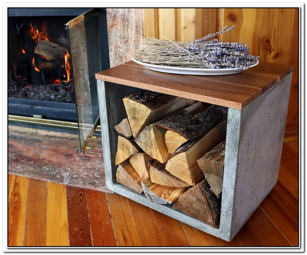 Log Holder For Those With Modern Interiors