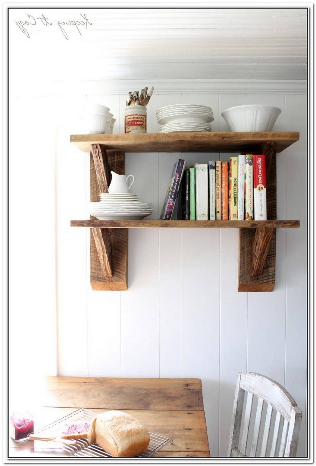 Log Shelves Bring A Piece Of Nature Into Your Home