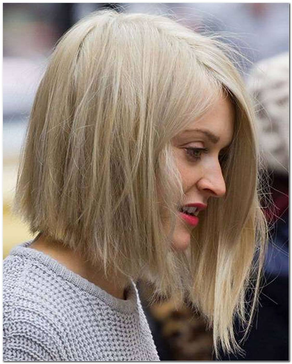 Long Bob Frisuren Asymmetrisch
