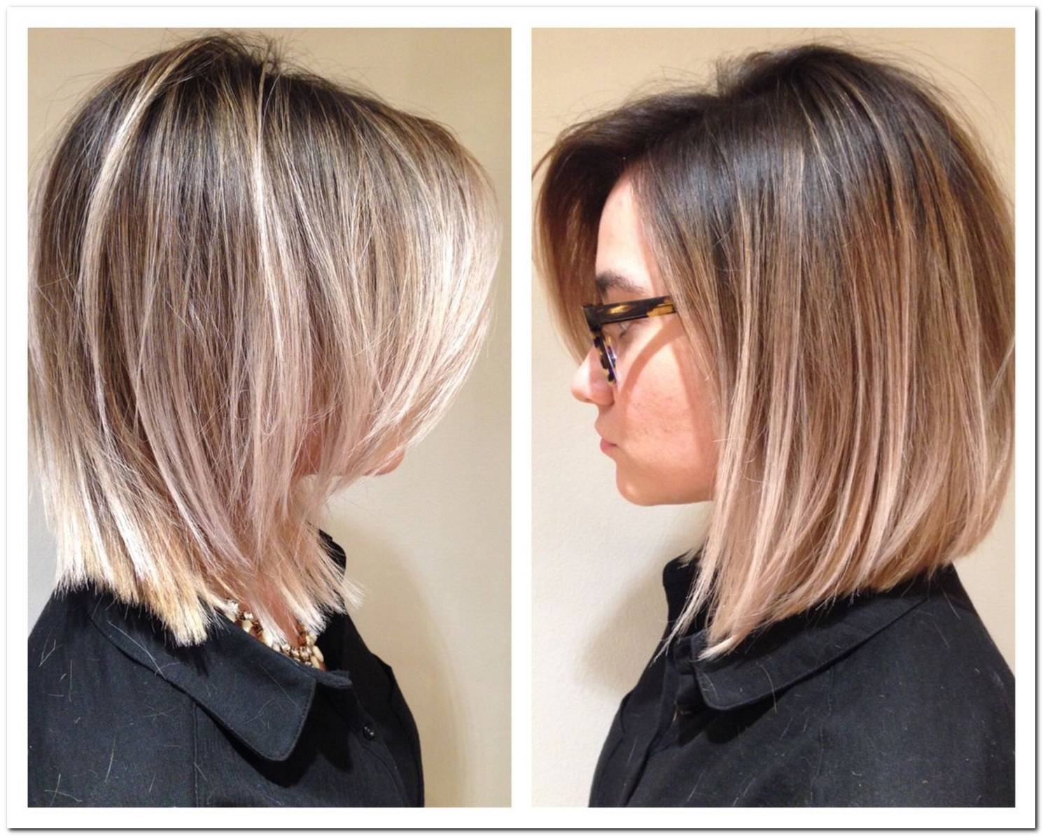 Long Bob Frisuren Balayage
