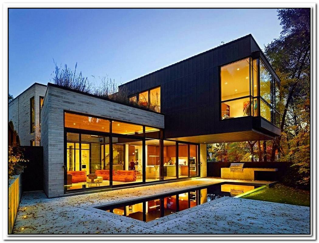 Lovely Holiday Residence That Feature A Modern Construction