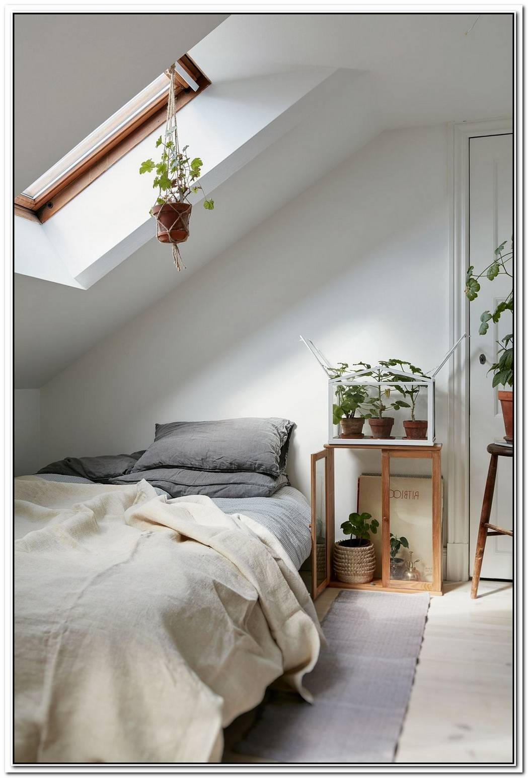 Lovely Swedish Attic Apartment Defined By Lightness And Harmony