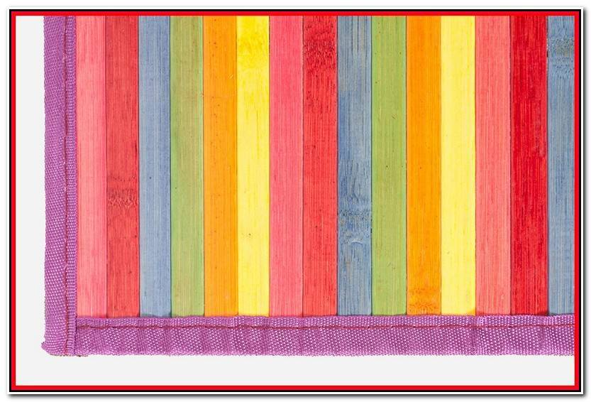 Lujo Alfombras De Bambu De Colores Colección De Alfombra Accesorios