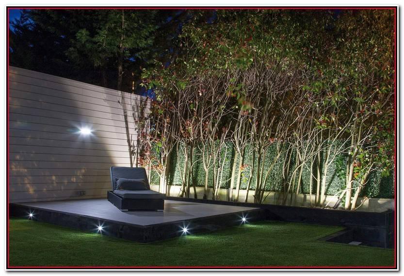 Lujo Iluminacion De Jardines Exteriores Fotos De Jardín Decoración