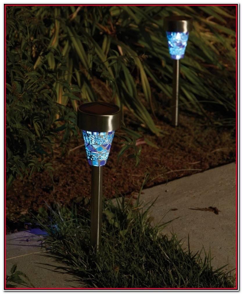 Lujo Luces Solares Jardin Imagen De Jard%C3%ADn Idea