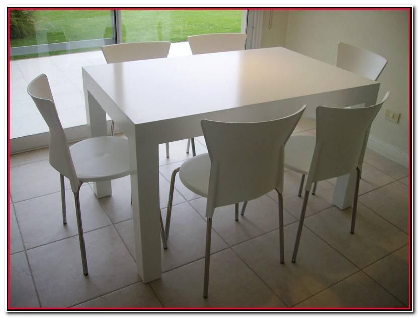Lujo Mesas Modernas Blancas Galería De Mesas Ideas