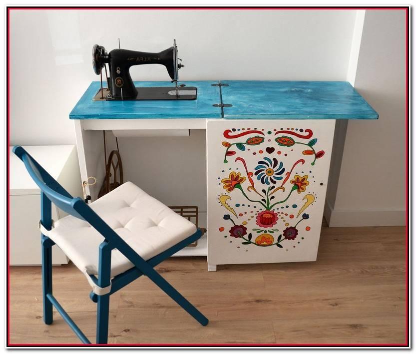 Lujo Mueble Maquina De Coser Imagen De Muebles Accesorios