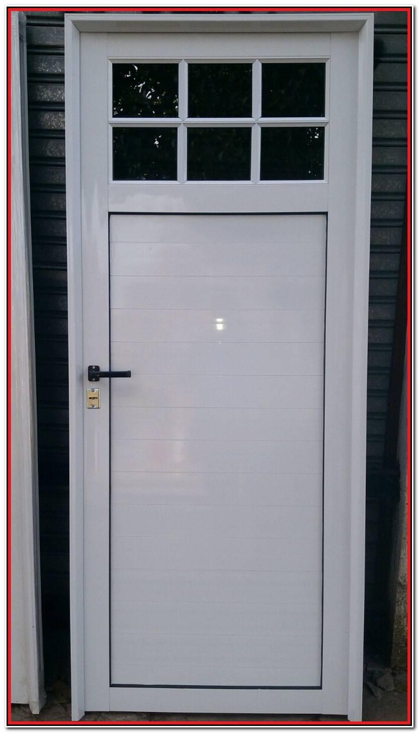Lujo Puerta Aluminio Blanco Imagen De Puertas Decoración