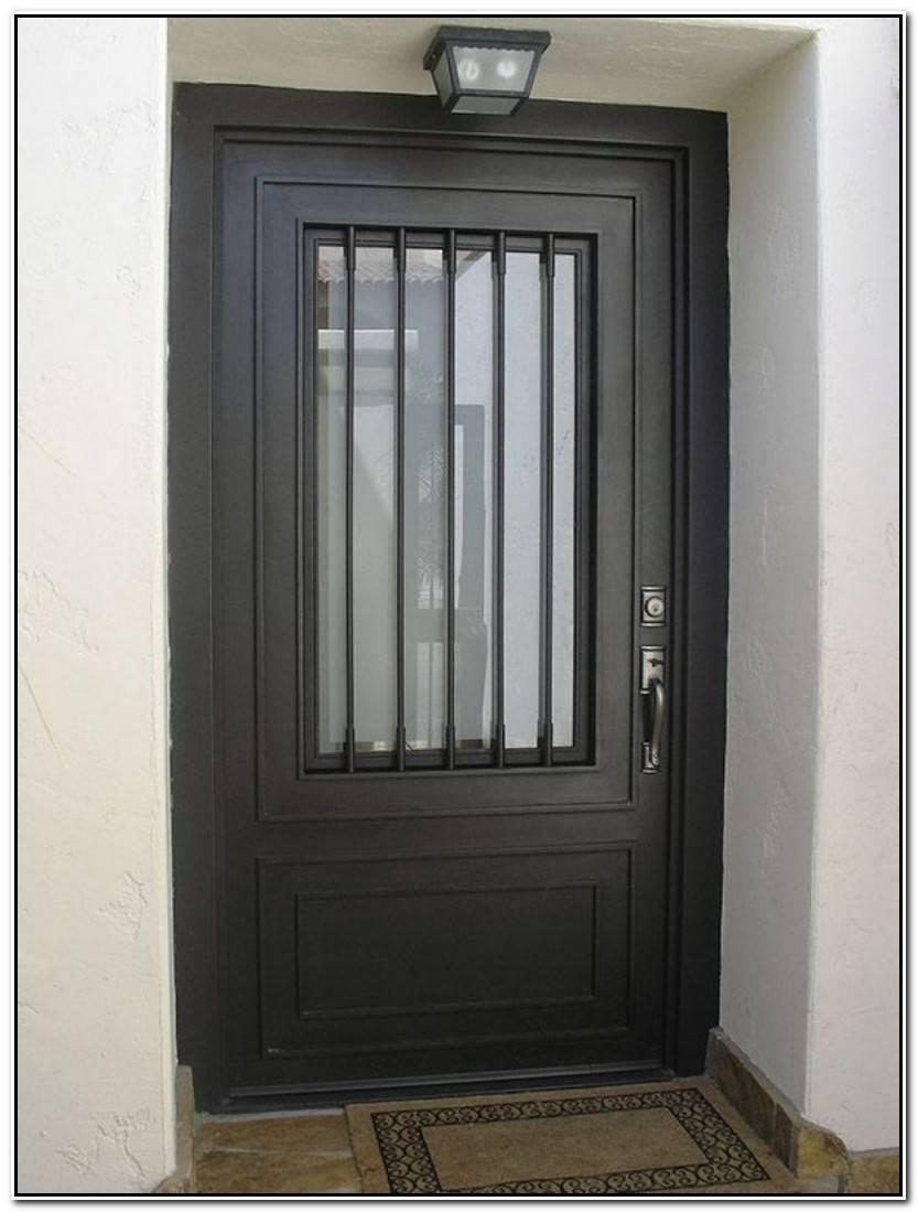Lujo Puertas De Hierro Para Casas Galería De Puertas Ideas