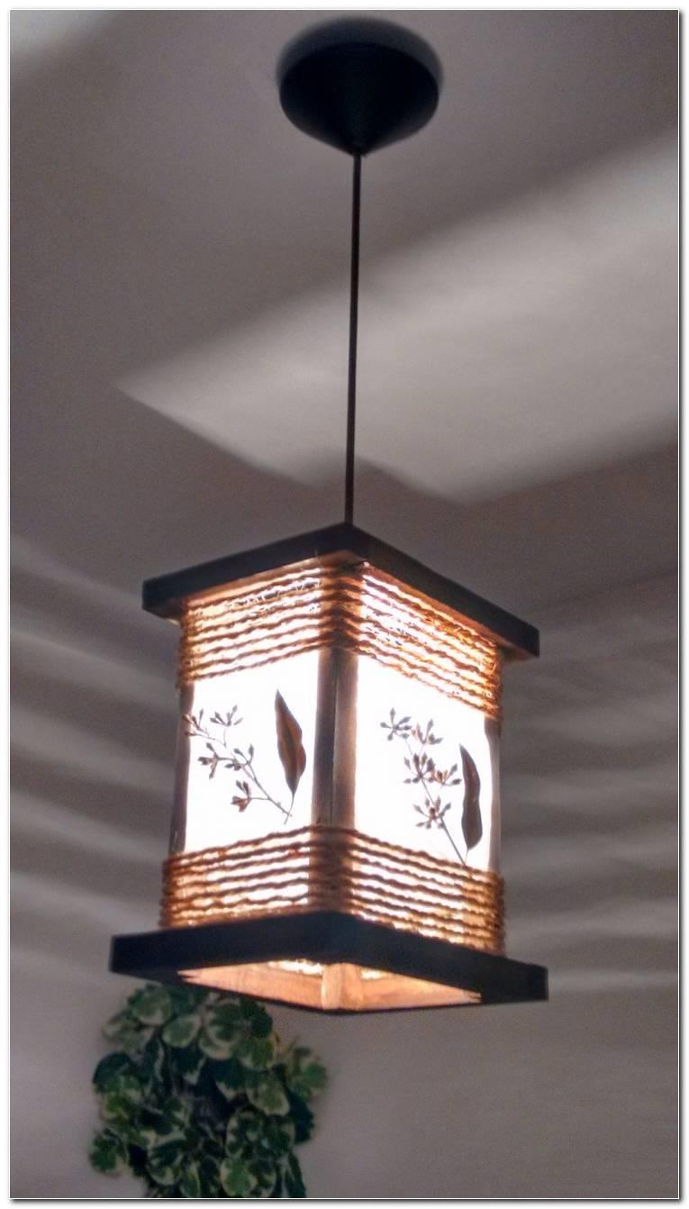 Luminária De Teto Artesanal