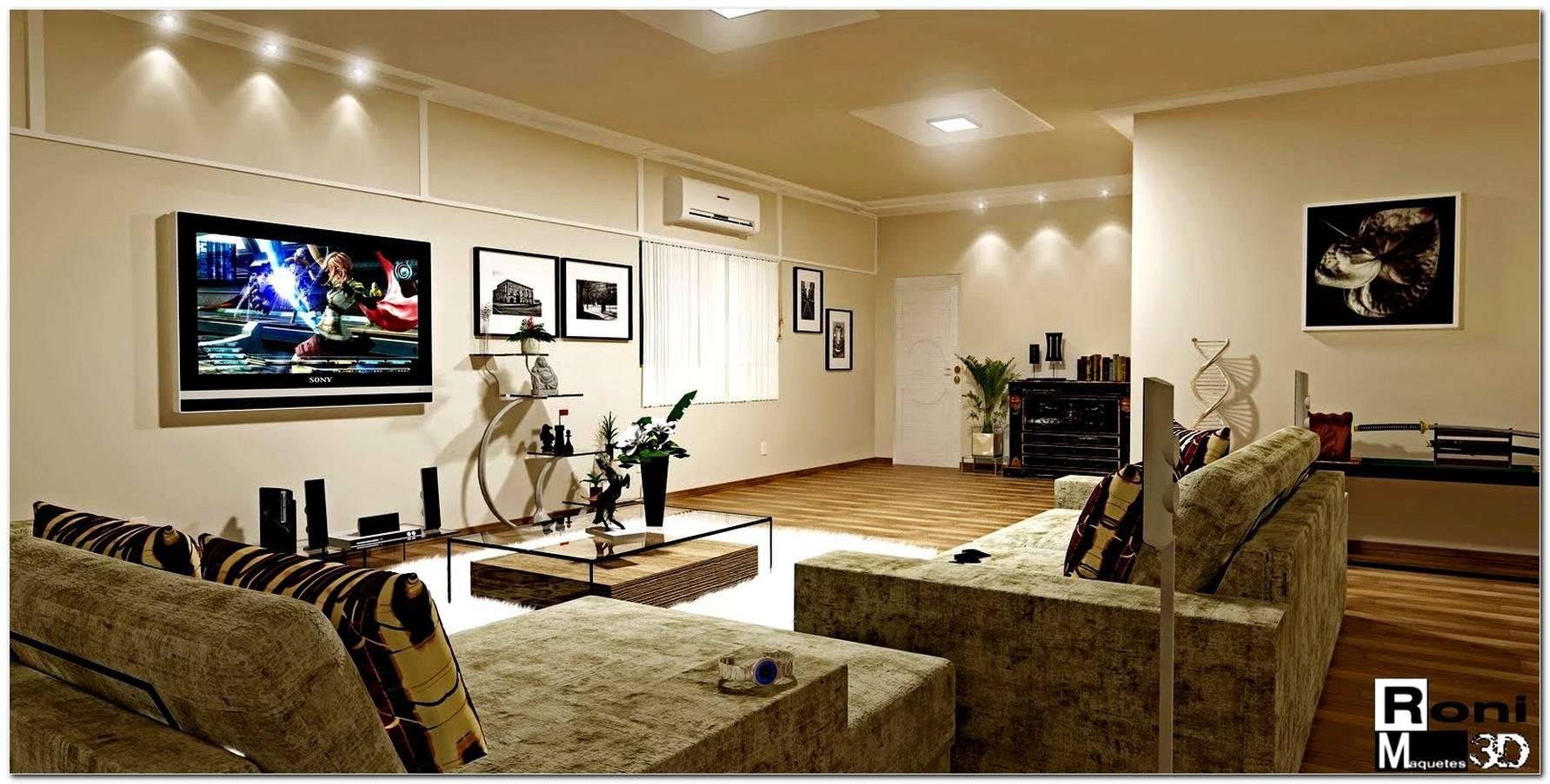 Luminaria De Teto Para Sala De Tv