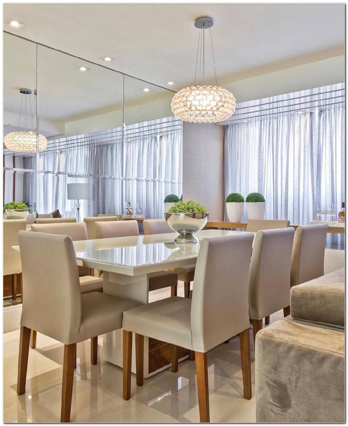 Lustres Sala De Jantar E Estar Integradas