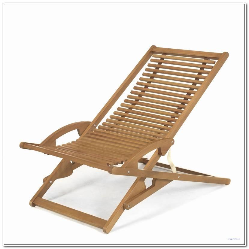 Luxe Chaise Longue En Teck