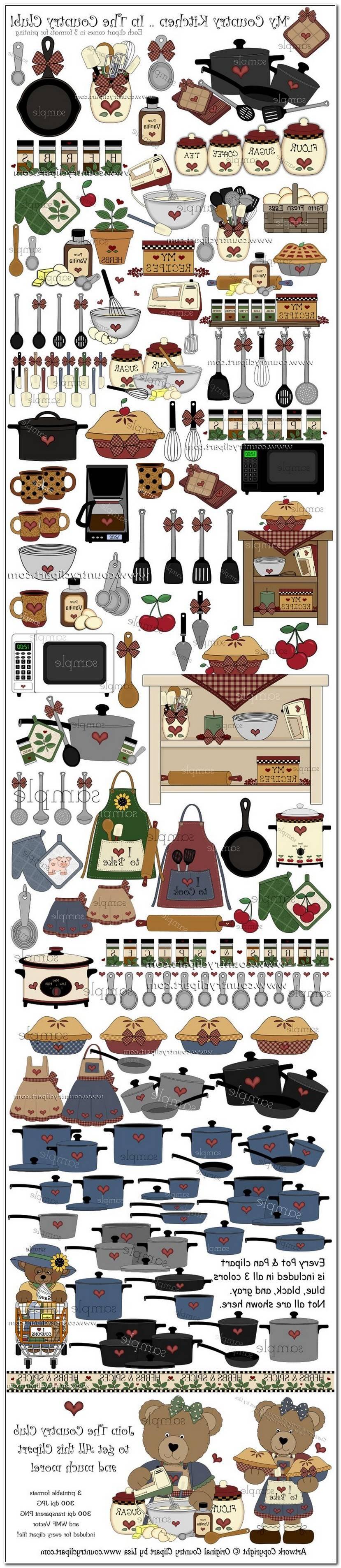 Luxe Clipart Atelier Cuisine