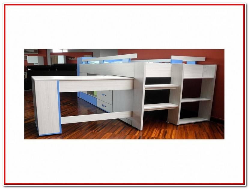 Luxe Lit Bureau Conforama