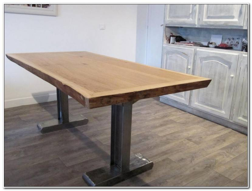 Luxe Pied De Table Industriel