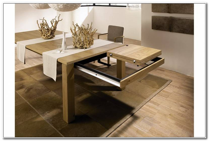 Luxe Table Avec Allonge
