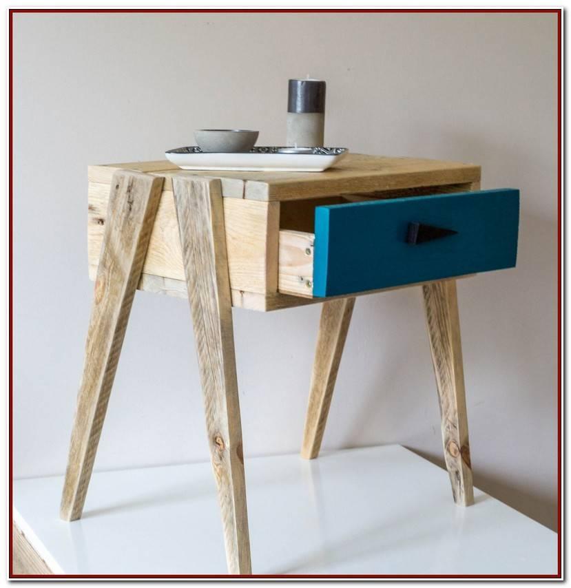 Luxe Table Chevet Bois