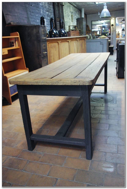 Luxe Table De Ferme Ancienne