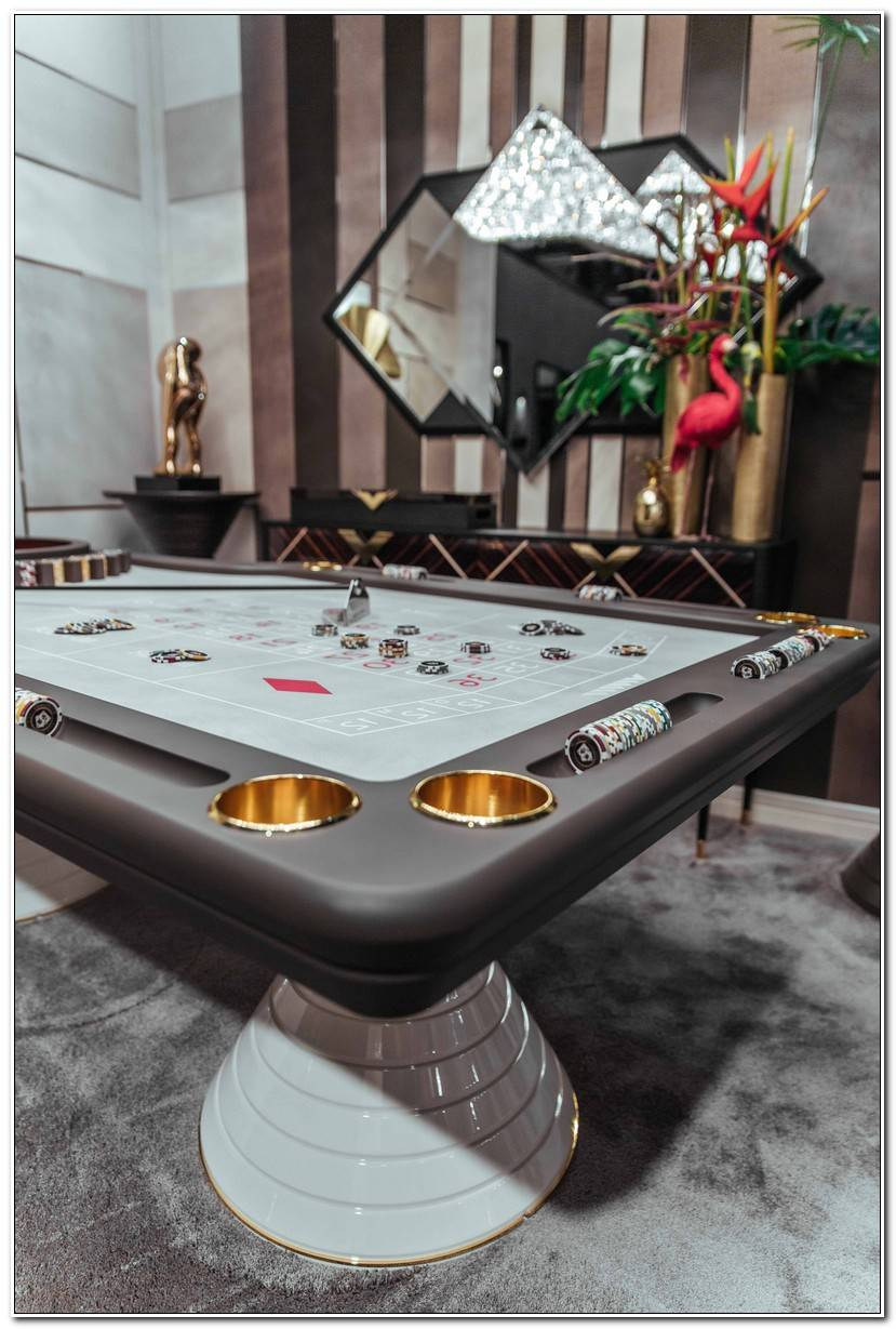 Luxe Table De Roulette