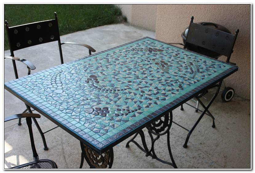 Luxe Table Mosaique Jardiland