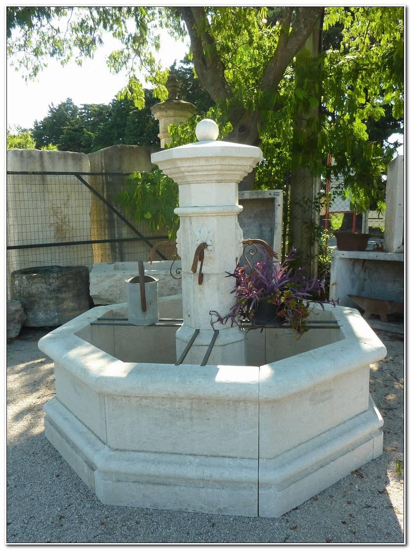 Luxe Vasque En Pierre Pour Jardin