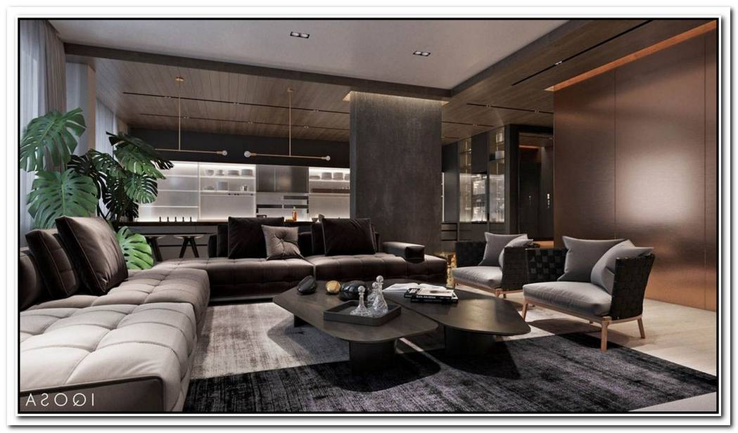 Luxury Apartment Interior Design Using Copper 2 Gorgeous Examples