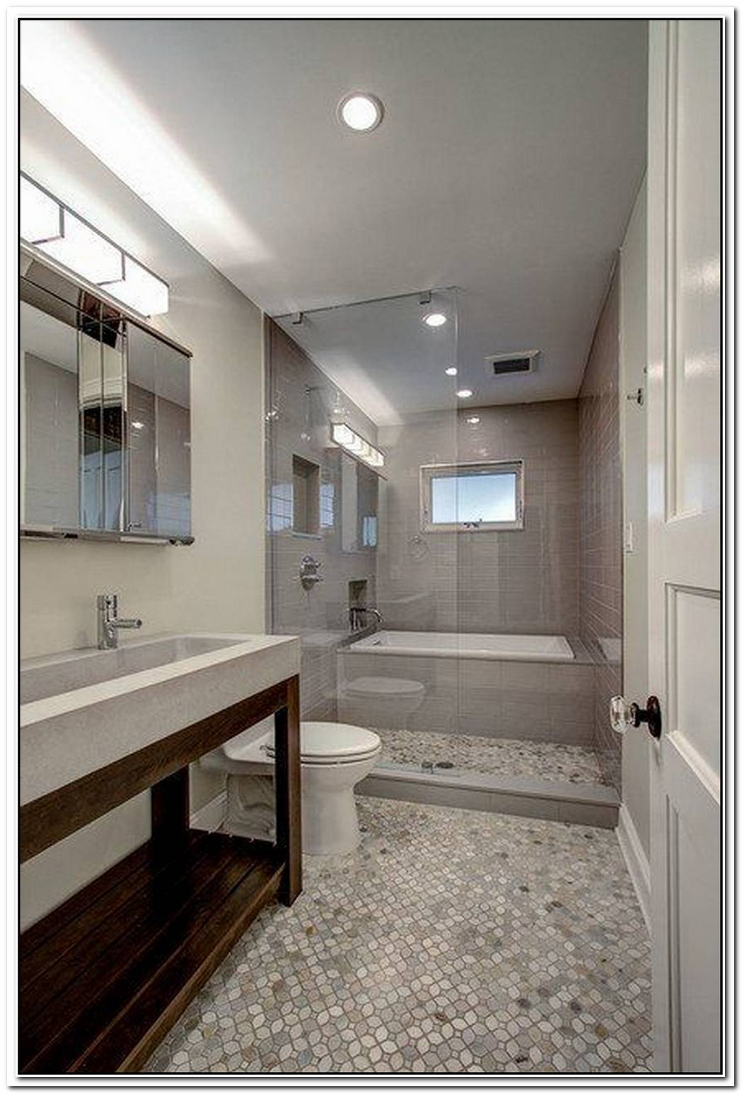 Luxury Bathroom Small Space Single
