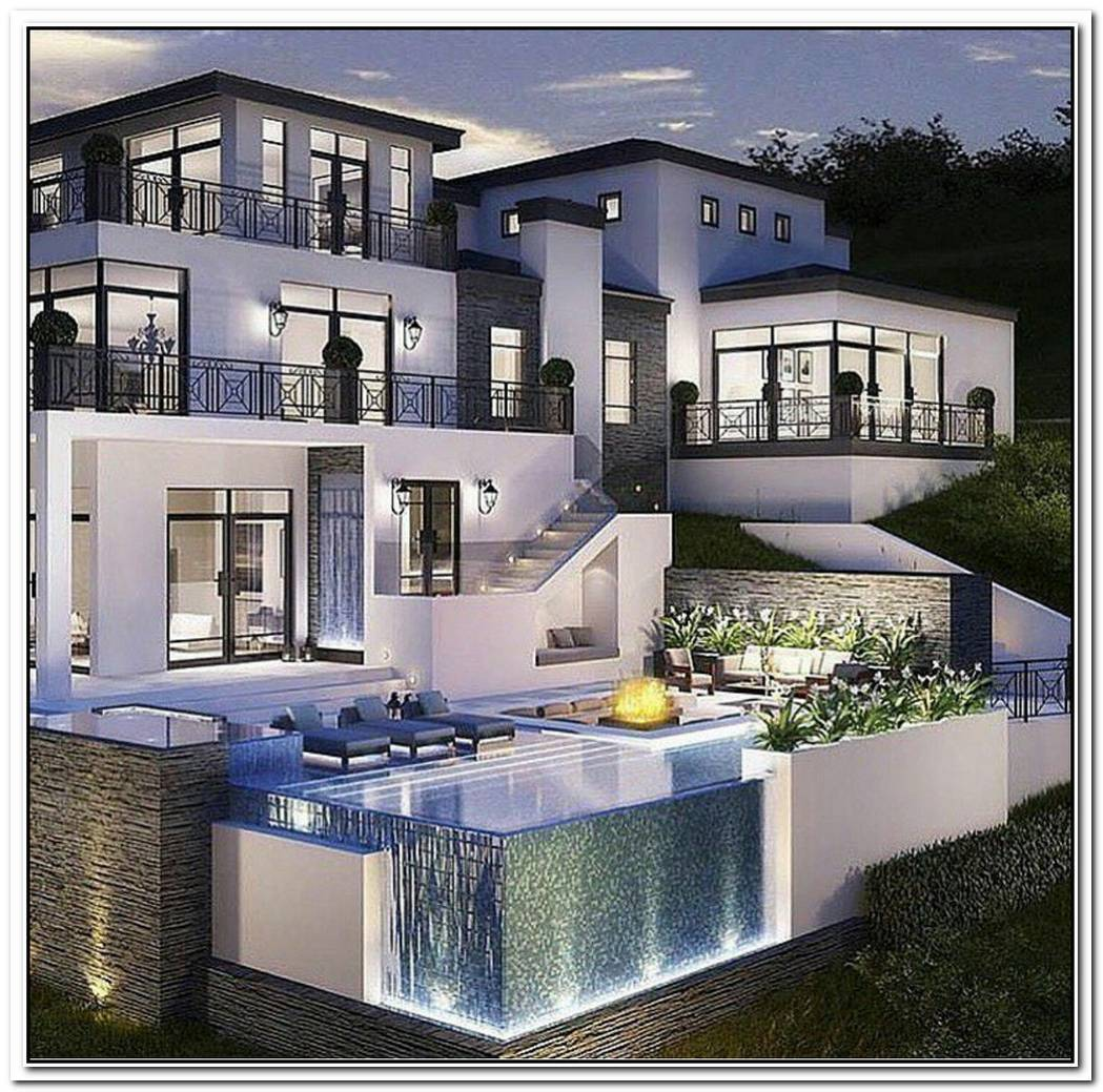 Luxury Beverly Hills Mansion On A Secluded Lot With Great Views