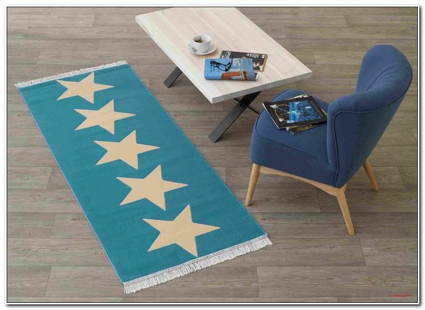Luxury Blauer Teppich