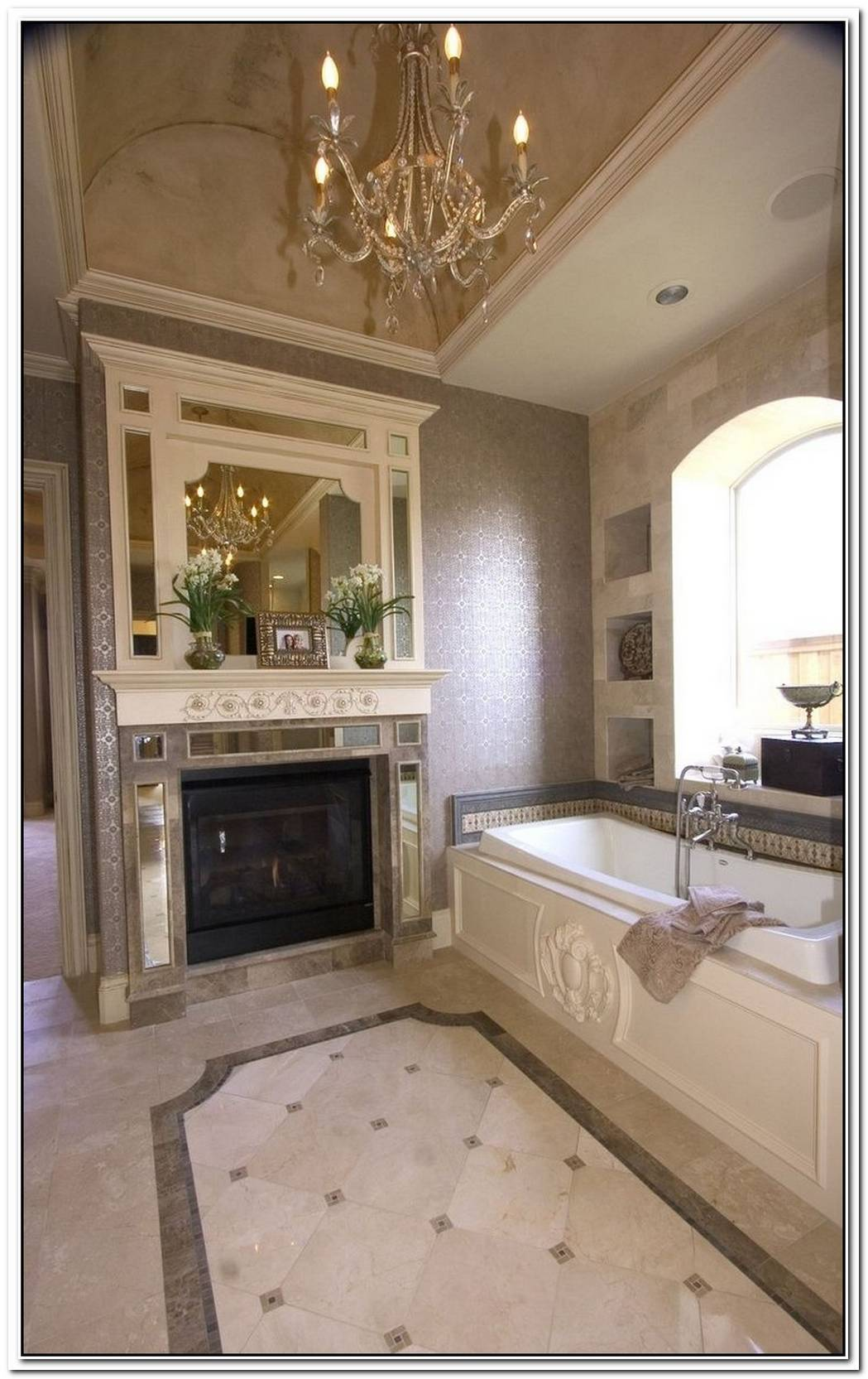 Luxury Classic Bathroom Design Idea