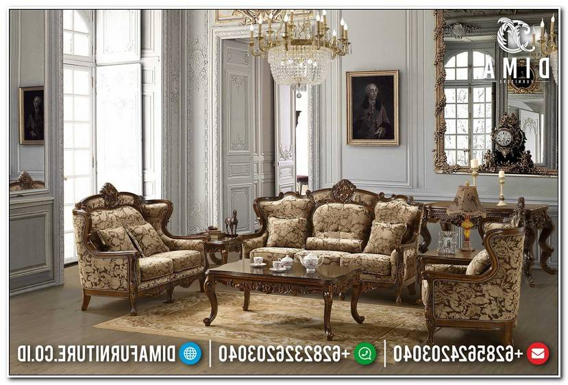 Luxury Couchgarnitur 3 2 1