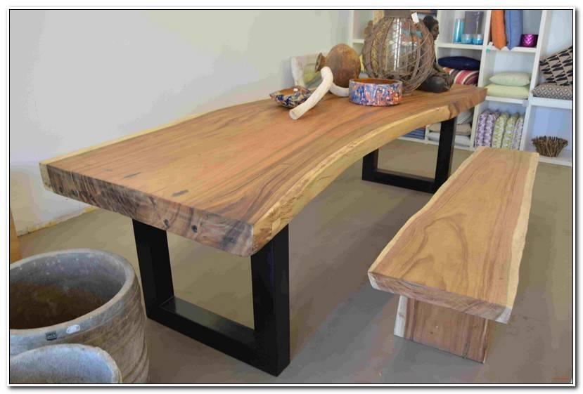 Luxury Esstisch Mit Baumkante