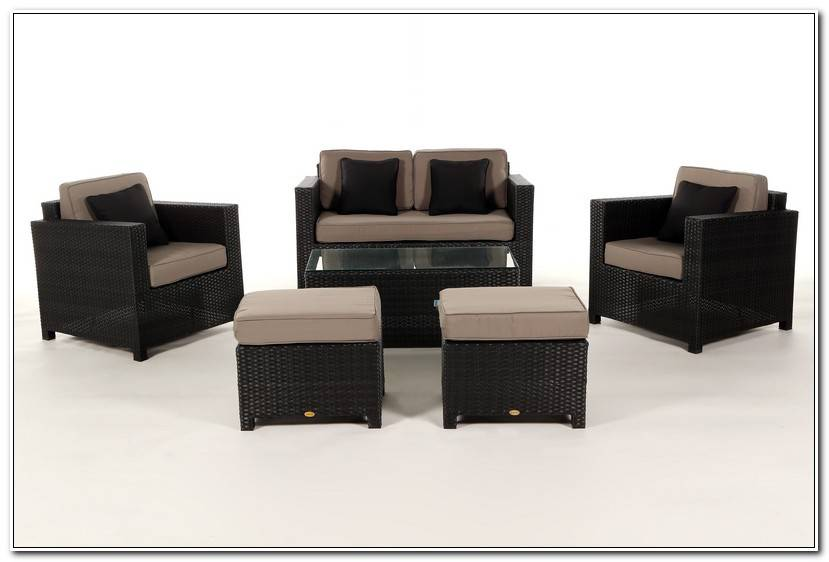 Luxury GartenmöBel Lounge Set