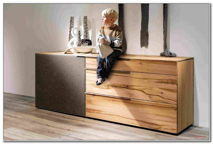 Luxury Highboard Wildeiche