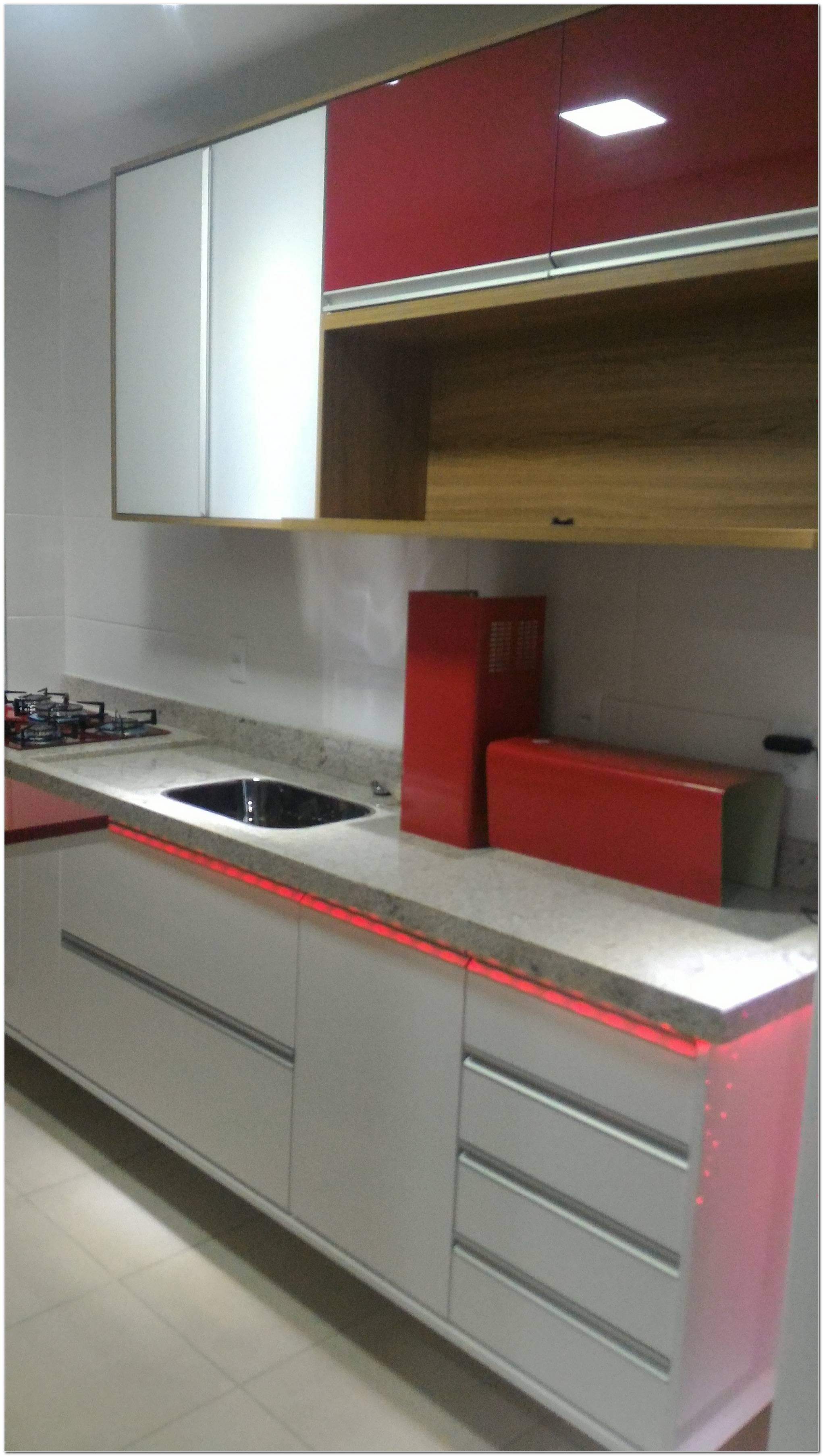 Móveis Planejados Cozinhas Vermelhas