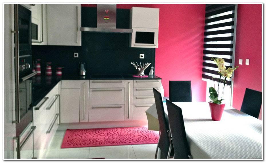 Ma Salle De Bains En Rose Et Noir