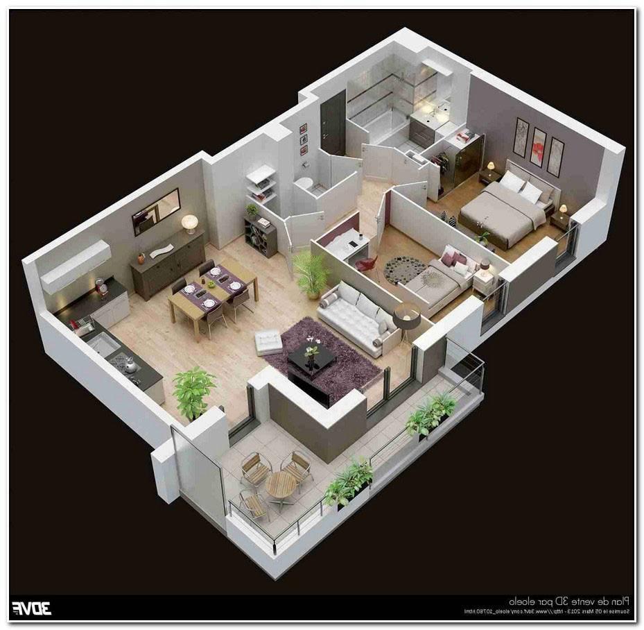 Maison 3d Moderne
