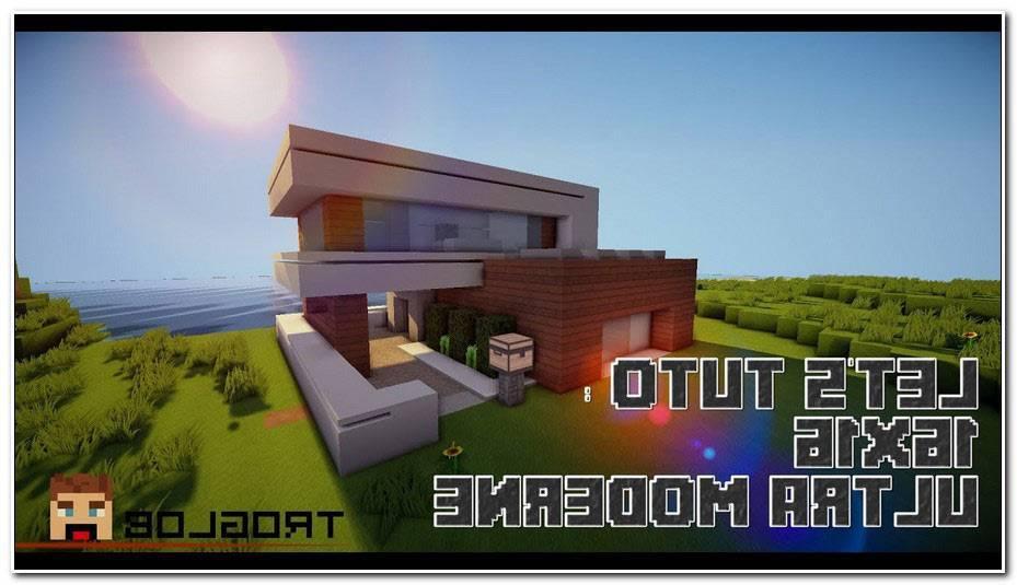 Maison Ultra Moderne Minecraft