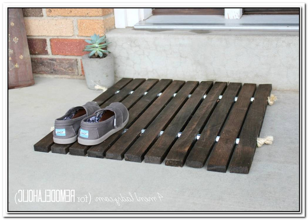 Make Your Own Wooden Floor Mat