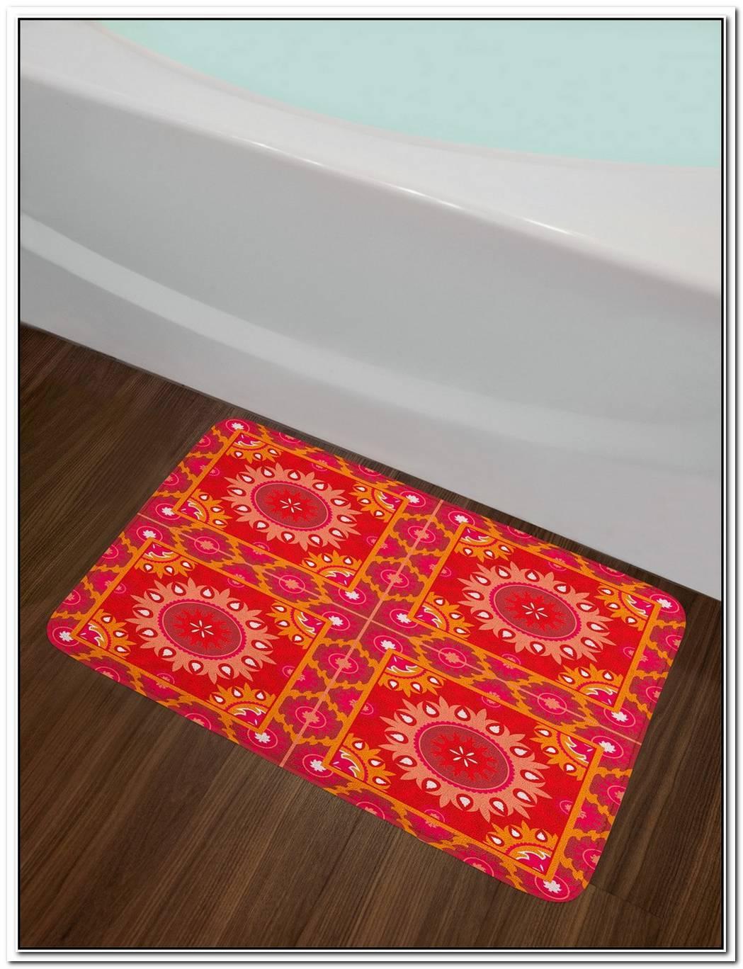 Mandala Bath Rug