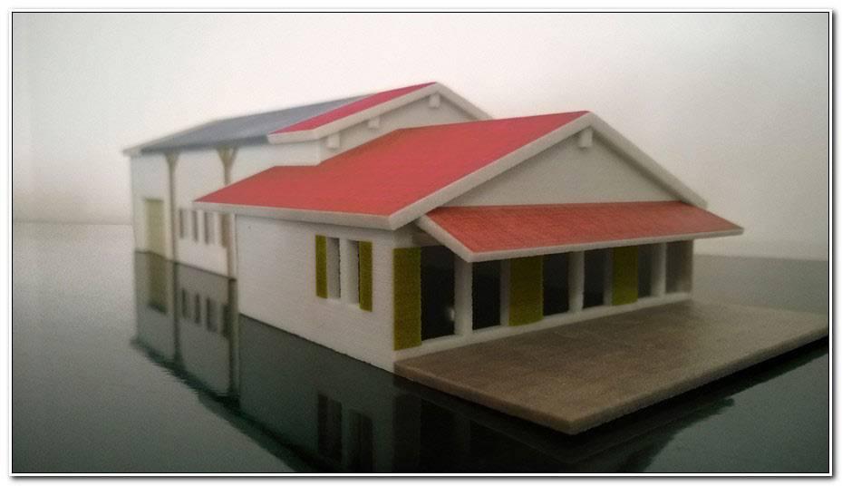 Maquette De Maison A Construire