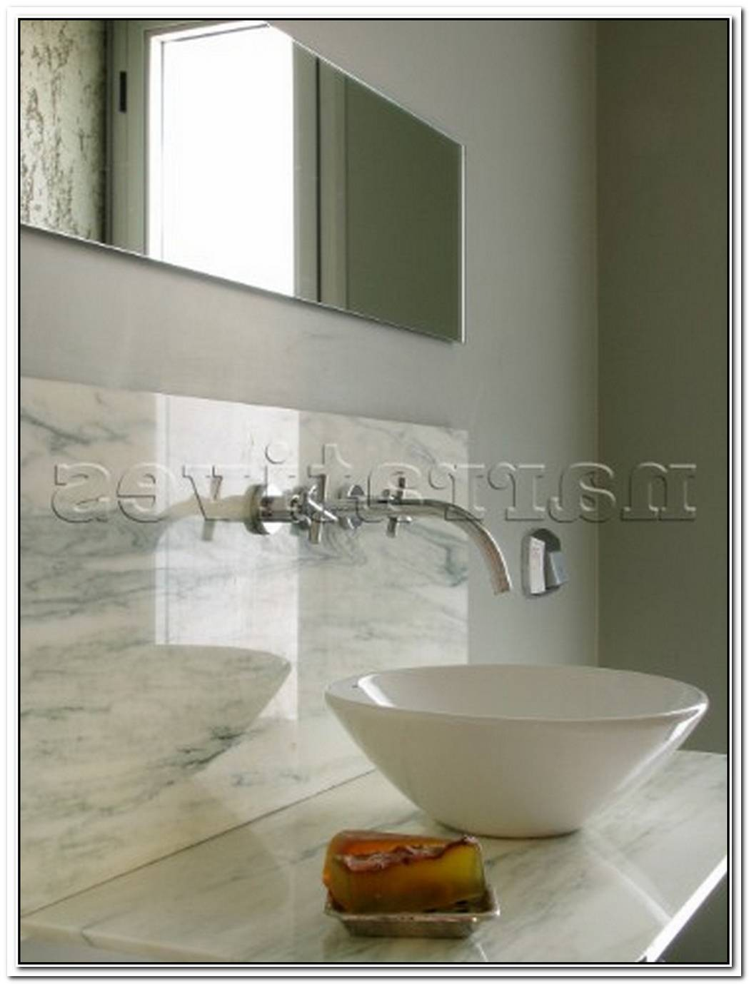 Marble Bathroom Splashback