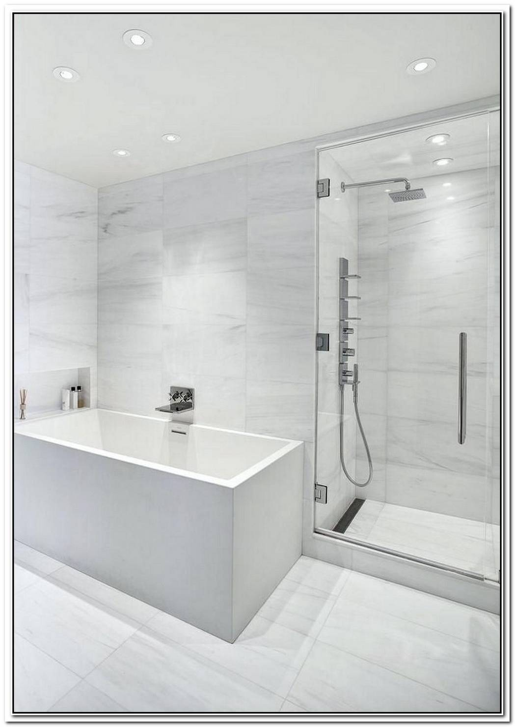 Marble Tile Bathroom Modern Porcelain